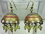 Smart Deal Jewellers Handmade Wooden Art Jhumki (Earrings) for you