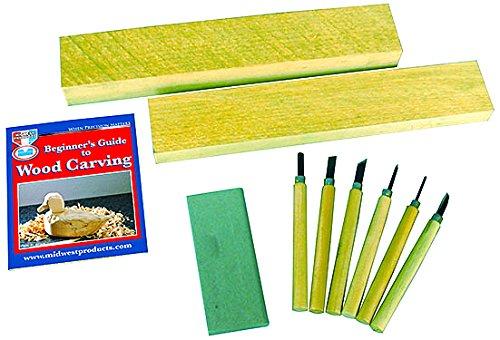 Wood Carvers Starter Kit -8Pcs