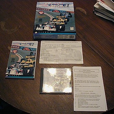 Indy Car Racing II (Apple Ii Dos compare prices)