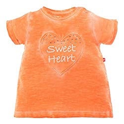 Babeez Baby Girl T-shirt, Top, Tee with Print & Studs