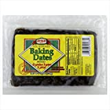 Ziyad Dates, Baking, Pitted, 13 Oz, Pack Of 6