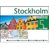 Popout: Stockholm :Handy, Pocket Size, Pop-Up Map of Stockholm
