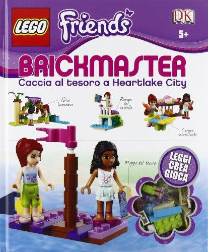 Caccia al tesoro a Heartlake City. Lego Brickmaster Friends. Con gadget