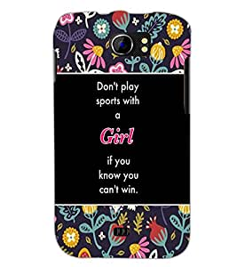 PrintDhaba Quote D-5711 Back Case Cover for MICROMAX A110Q CANVAS 2 PLUS (Multi-Coloured)