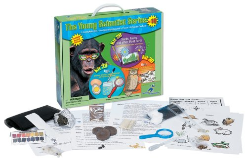Young Scientist Series - Set 10: Seeds, Fruits, and other Plant Parts (Kit 28) - Eggs (Kit 29) - Owls (Kit 30)