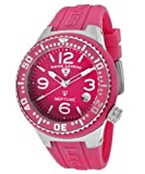 Swiss Legend Women's 11044P-015 Neptune Pink Dial Pink Silicone Watch