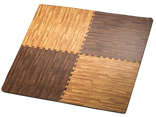 hemingweigh-printed-wood-grain-interlocking-foam-anti-fatigue-floor-puzzle-mats-makes-a-superior-fit