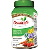 Osmocote 277160 Flower and Vegetable Smart-Release Plant Food, 14-14-14, 1-Pound Bottle