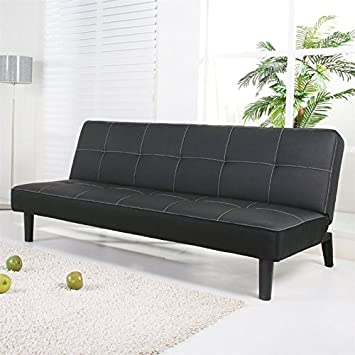 Columbus Futon and Mattress Finish: Black