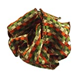 Offray Wassail Fall Colors Wired Edge Ribbon, 2 1/2