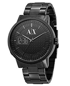 Armani Exchange Ana/Digi Black Dial Men's Watch #AX2060