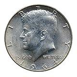 90% Silver John F. Kennedy Half Dollar JFK Circulated Better Than Half Dollar Fine