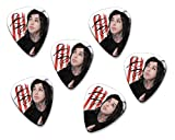 Ronnie Radke Falling in Reverse Escape the Fate 6 X Loose guitar Picks ( Flag Design )
