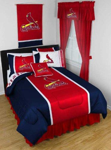 MLB St Louis Cardinals - Queen Bedding Comforter Set