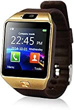"YUNTAB S Bluetooth Smart Watch pantalla LCD 1.56"" (240x240), Bluetooth 3.0 ,SIM tarjeta, CON CÁMARA smartphone Android Samsung S2/S3/S4/Note 2/Note 3 HTC Nokia IOS Apple iphone 4/4S/5/5C/5S/6 (parduzco)"