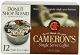 Camerons Donut Shop Single Serve Coffees,  12-Count