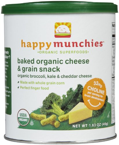 Happy Baby Munchies Snacks Cheese And Veggie - 1