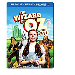 Wizard of Oz 75th Anniversary Collectibe Metal [Blu-ray]