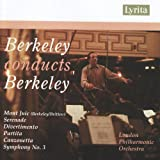 Berkeley Conducts Berkeley: Orchestral Works