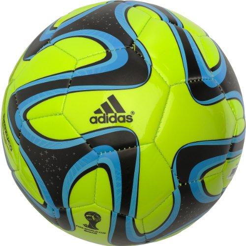 Adidas Brazuca Glider Soccer Ball Size5 (NEON)