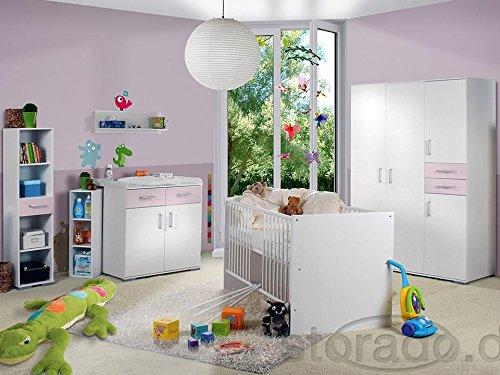 Babyzimmer Isabel Weiss/Flieder 8tlg.