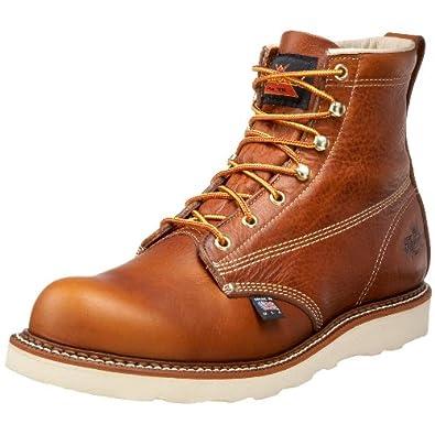 Thorogood Men's American Heritage Six-Inch Plain-Toe Boot