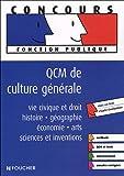 echange, troc Thierry Marquetty, Elisabeth Chaperon, Paul Guilin - QCM DE CULTURE GENERALE (Ancienne édition)