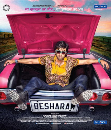 Besharam (Hindi Film / Bollywood Movie / Indian Cinema Blu Ray)