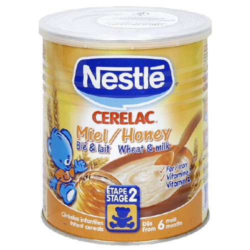 Buy Nestle Cerelac, Honey, 14-Ounce Can (Pack of 4) (Cerelac, Health & Personal Care, Products, Food & Snacks, Breakfast Foods, Cereals)