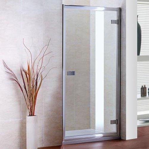 Shower enclosure - 900mm x 800mm Shower Tray & 900mm Hinged Door