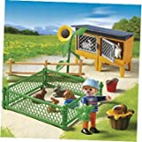 Dazzling Playmobil Rabbit Pen (5123) - Cleva Edition H8' Bundle