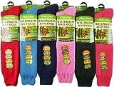 Ladies Green Long Wool Riding Wellington Boot Gardening Sock 4-8 UK (37-41 EUR)