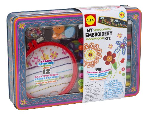 Kit de bordado ALEX Toys Craft My Embroidery