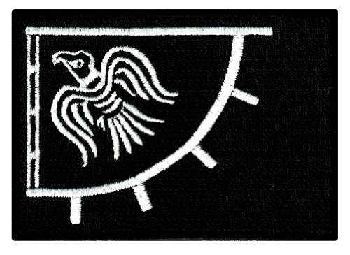 fc50cf37433830 Raven Banner Black Viking Flag Embroidered Patch Iron-on - Import It All