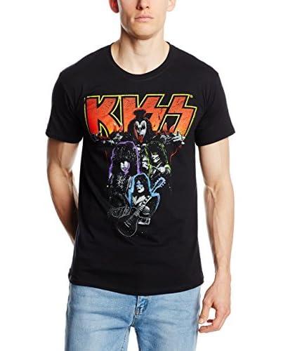 ICONIC COLLECTION – KISS Camiseta Manga Corta Kiss