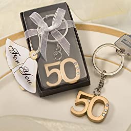 50th Anniversary Keychain Favors, 29 by Fashioncraft