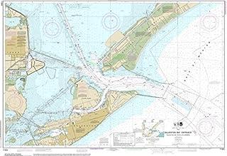 Waterproof NOAA Chart 11324 Galveston Bay Entrance Galveston and Texas City Harbors