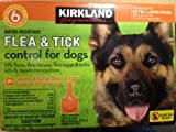 Kirkland Signature Water Resistant 6-month Flea & Tick Control for Extra Large Dogs, 80lbs & Over
