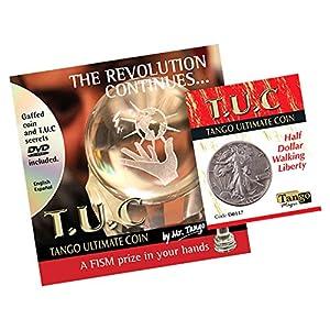 MMS Tango Silver Line T.U.C. Walking Liberty Half Dollar Tango Trick Kit with DVD