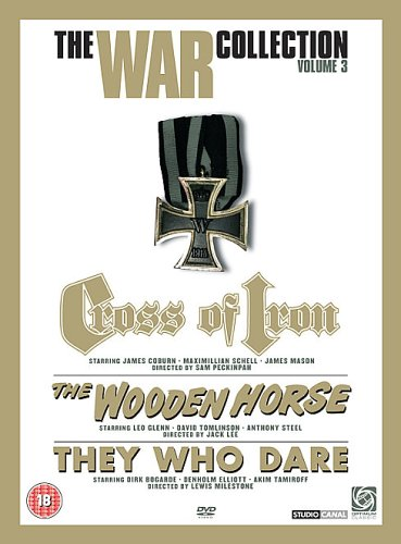 The War Collection Volume 3 (Cross of Iron / The Wooden Horse / They Who Dare ) [DVD]