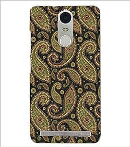 PrintDhaba Pattern D-5276 Back Case Cover for LENOVO K5 NOTE (Multi-Coloured)