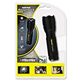 Rayovac® - LED Aluminum Flashlight, Black - Sold As 1 Each - LED outputs 200 lumens.