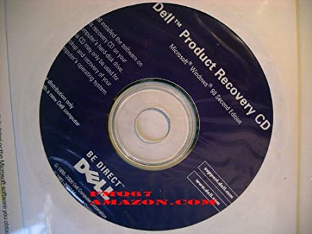 Dell Product Recovery Cd Microsoft Windows 98 Second Edition By Direct Dell
