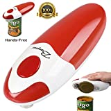BangRui hands-free fast and secure smooth edge automatic electric can opener (red)