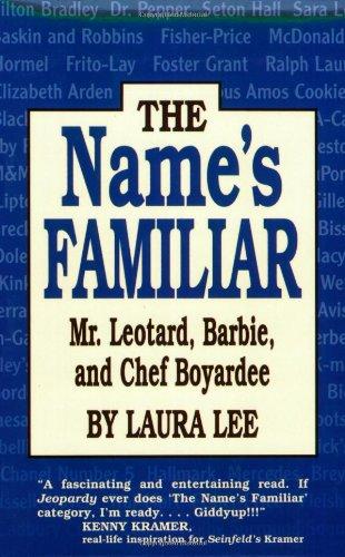 The Name's Familiar  Mr. Leotard, Barbie, and Chef Boyardee