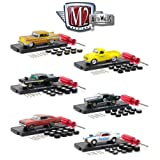 1:64 AUTO-WHEELS RELEASE 6 MULTI COLOR 6 PIECES SET BY M2 MACHINES 34001-06