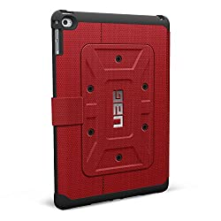 Urban Armor Gear UAG-IPDAIR2-RED-VP Folio Case for Apple iPad Air 2 - Red