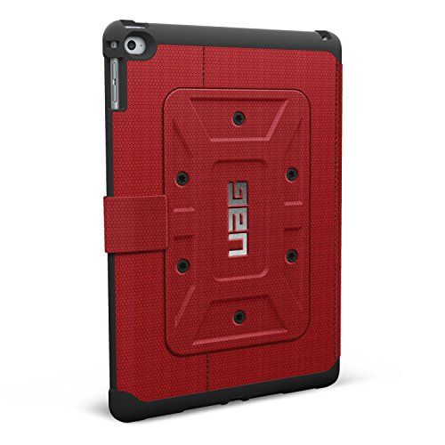 Review URBAN ARMOR GEAR Folio Case iPad Air 2, Red/Black