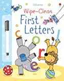 First Letters (Usborne Wipe Clean Books) Felicity Brooks