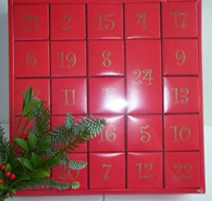 blank advent calendar